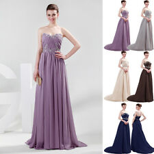 Stock Long Dress Great for Banquet Party Formal Evening Prom Bridesmaid Wedding