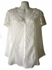 New Anthropologie by Sanctuary Clothing Shirt With Lace Trim - Free Shipping