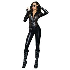 Sexy Cop Costume Adult Female SWAT Police Halloween Fancy Dress