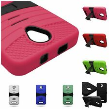 For BLU Studio 5.0 S II Tough Dual Layer Kickstand Hybrid Phone Cover New Cases