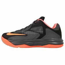 Nike Lebron ST III 3 Black Orange 2014 King James Mens Basketball Shoes Sneakers