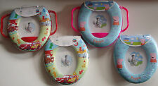 Disney Soft Potty Training Padded Toilet Seat Cars And Peppa Pig