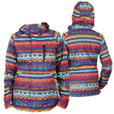 BURTON Womens 2014 Snowboard Snow Antigua Stripe HORIZON JACKET