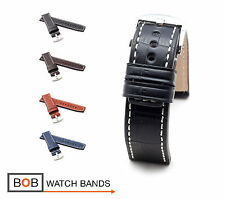 BOB XL Marino Alligator Watch Band/Strap for Panerai, 22/22 mm, 4 colors, new!