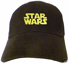 Star Wars Logo Embroidered Baseball Hat - Cap - NEW