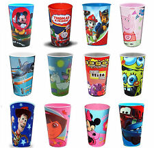 Disney & TV Character Lenticular Party Table Cup Water Drink Gift New
