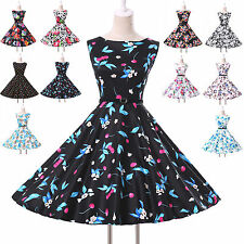 2014❤CHEAP❤Women Vintage 50s 60s Rockabilly Housewife Evening Party Prom Dresses