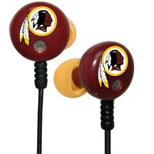 iHip Officially Licensed NFL Team Logo Earbuds - Show your support!