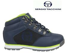 NEW MENS SERGIO TACCHINI FLEX BOOTS WALKING BOOTS WINTER FASHION BOOTS NAVY BLUE