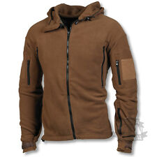 TACTICAL FLEECE MILITARY SPECIAL FORCES COYOTE BROWN ARMY MILITARY WARM HOODIE