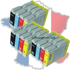 12 Cartouches-ink encre compatible imprimante Brother LC970 LC1000 MFC235C