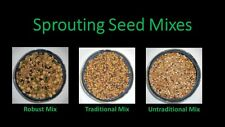 Sprouting Seeds - Sprout Seed Mixes - Non-GMO - 3 Varieties Available - 2 ounces
