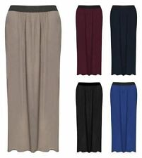 Plus Big Size Full Length Gypsy Maxi Skirts Jersey Bodycon Long Skirt 16 18 20