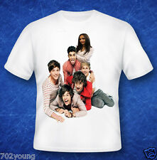 Custom Personalized T-shirts with Photo Name Text Photo Inserted One Direction