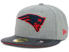 Official NFL New England Patriots New Era 59FIFTY Fitted Hat Heather 2 Tone