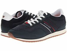 TOMMY HILFIGER MARCUSDBLFB Navy/White Men's Casual Jogging Fashion Shoes Sneaker