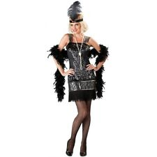 Flapper Costume Adult Roaring 20s Halloween Fancy Dress
