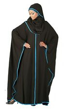 Butterfly Kaftan Abaya with Hijab Included/ Islamic Clothing Long Dress Jilbab