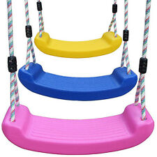 OUTDOOR Wraparound Garden SWING SET SEAT BELT + Climbing Rope Swingset Playset