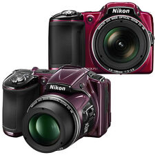 Nikon COOLPIX L830 16MP 34x Opt Zoom Digital Camera Factory Refurbished