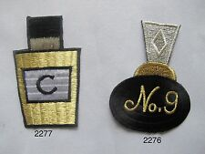 Love Potion NO.9 Black Perfume,Cologne Perfume Bottle Embroidery Applique Patch