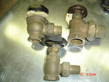 "RED BRASS RADIATOR VALVES 1/2"", 3/4"" ,1"",1-1/4"" & 1-1/2"" -STEAM HW BOILERS"