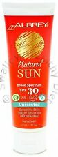 Aubrey Organics Natural Sun Sunscreen Lotion SPF