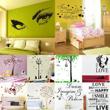 DIY Removable Wallpaper Wall Sticker Home Room Decor Art Vinyl Quote Decal Mural