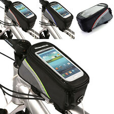 Durable Roswheel Bike Cycle Bicycle Frame Front Tube Bag Mobile Phone Holder Bag