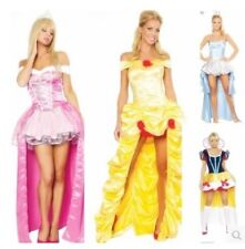P129 Cosplay Costume women Princess dress Halloween sleeping beauty snow white