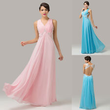 2014 New Style BACKLESS Ball Party Gown Evening Prom Cocktail Bridesmaid Dresses