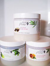 New - Choose from 9 Flavors of Body Scrub from 100% Pure