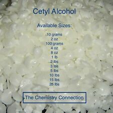 Cetyl Alcohol for emulsions and various uses 10 g to 25 lb Free Shipping