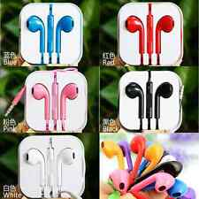 Earbud Earphone Headset Stereo Music With Microphone For Mobile Phone iPhone MP3