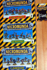 Necromunda miniatures / box set / model Games Workshop 40K Sci Fi   Select 1
