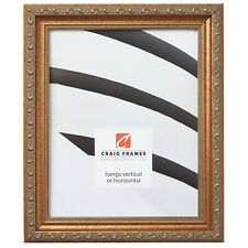 Craig Frames Antique Scrolled Gold Solid Wood Picture Frame