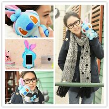 Funny 3D Cute Cartoon Dog Plush Toy Doll Skin Case Cover For Samsung Cell Phones