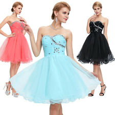 CLEARANCE!! Bridesmaid Dress Tutu Homecoming Cocktail Prom Party Evening Dresses