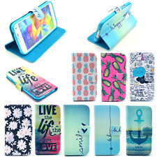 US Stock Vintage Stand Flip Wallet Leather Hybrid Soft Case Cover For Samsung