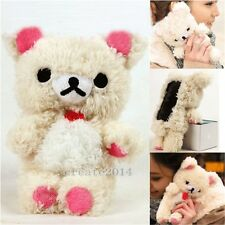 3D Teddy Bear Cool Plush Toy Doll Skin Case Cover For Various Motorola Phones