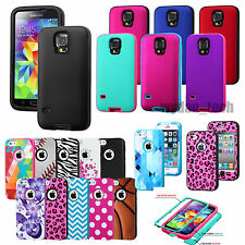 TUFF Verge Hybrid Shockproof Case Dual Layer Skin Cover For Apple iPhone Samsung