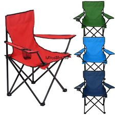 US Sell ! Comfort Portable Camping folding Chair With Carry Bag Garden Outdoor