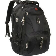 SwissGear 1900 Backpack Travel Gear ScanSmart Bag Black Red NEW
