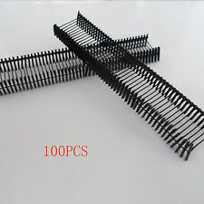1000 or 5000 PCS  for 15mm Black Garment Price Label Tag Tagging Plastic Barbs