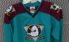 Mighty Ducks Youth Hockey Jersey Anaheim California S M L XL NWT Vintage Logos