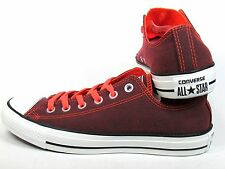 NEW!! CONVERSE ALL STAR CHUCK TAYLOR CT OX CORAL FIERY CORAL LOW TOP