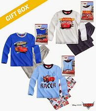 BOYS LICENSED DISNEY CARS GIFT BOXED PYJAMAS Age 2,3,4,5,6,7,8 years