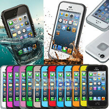 PC Waterproof Shockproof Dirt Proof Durable Hard Cover Case For iPhone 5s 5 5th