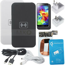 Qi Wireless Power Charging Pad+Receiver Module +Dock For Samsung Galaxy S5 i9600
