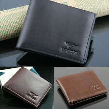 New Stylish Men's Male PU Leather Wallet Casual Pocket Card Clutch Bifold Purse